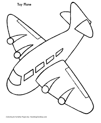 Small Picture Christmas Toys Coloring Pages Christmas Toy Plane Coloring Sheet