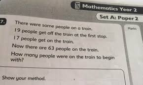 Can You Solve The Childrens Maths Puzzle Thats Leaving