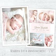 Newborn Announcement Template – Onairproject.info