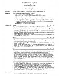 Civil Engineering Resume Examples Resume Format Civil Engineer Engineering Sample Picture 40