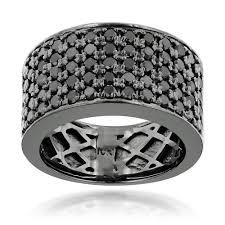 Mens Black Diamond Wedding Rings Buyretina Us