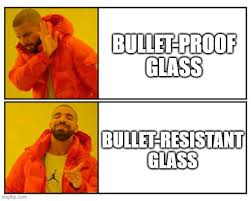 bulletproof glass how does it work
