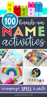 genius name activities for pre