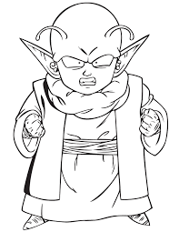 Dragon Ball Z Dende Coloring Page H M Coloring Pages