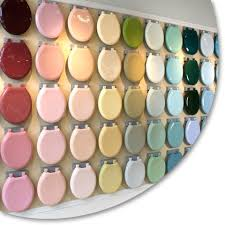 Bemis Toilet Seat Color Chart Toilet Seats In 94 Colors For Your Retro Bathroom Retro