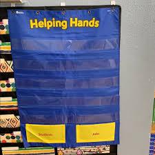 Teacher Pocket Chart Teacher Helping Hands Pocket Chart