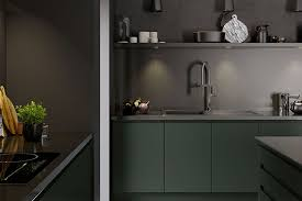 dark kitchen renovation trends 2019