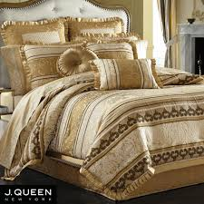 Marcello Gold forter Bedding by J Queen New York