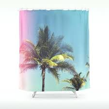 palm tree shower curtain tropical palm trees shower curtain palm tree shower curtain bed bath and