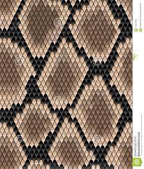 Snake Skin Pattern Inspiration Seamless Pattern Of Snake Skin Stock Vector Illustration Of Icon