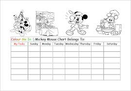 Curious Free Printable Mickey Mouse Potty Training Chart