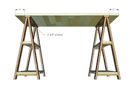 Sawhorse table legs Diy Sawhorse Diy Sawhorse Desk Sawhorse Desk Legs House With Hack Furniture Rustic Desk With Stained Legs Emengineeringco Diy Sawhorse Desk Digitaldarqinfo