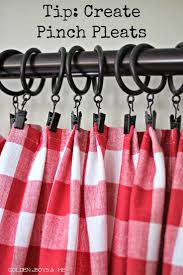 Yellow And Red Kitchen Curtains 25 Best Ideas About Red And White Curtains On Pinterest Red And