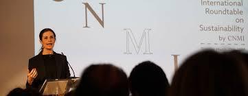 onale della moda italiana cnmi in partnership with swarovski will be holding the 2nd international roundtable on sustaility