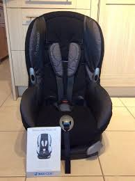 black maxi cosi priori car seat immaculate condition washed cover instructions included rrp 119