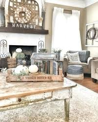 Rustic Country Living Room Designs