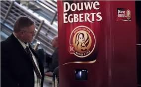 Douwe Egberts Vending Machine Best Mobile Payments Matching Snacks And Facial Recognition Douwe