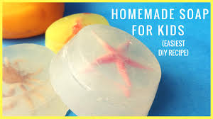 How to Make Homemade Soap For Kids (Tried \u0026 Tested Recipe) - YouTube