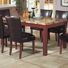 Nice Stone Dining Table On Coaster Telegraph Marble Top Diy Kitchen