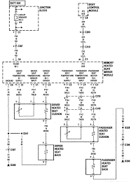 Car chrysler m wiring diagramm diagram images database chrysler heated front seats but the drivers