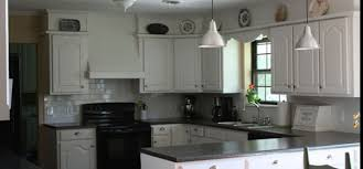 kitchen white cabinets dark countertops images and photos objects