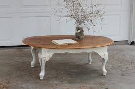 antique coffee table design feat white shabby chic with country en and fish creative furniture round