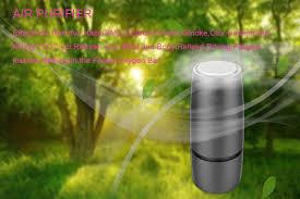 <b>GIAHOL</b> portable <b>Ultra quiet</b> Negative ionic Air purifier Intelligent ...