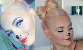 minnie mouse makeup tutorial easy