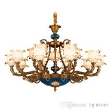 chandeliers lights european american luxury royal retro palace led crystal chandelier led pendant lights for hotel villa home decoration french led crystal