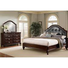 Pulaski Bedroom Furniture Manhattan King Bed Cherry American Signature Furniture