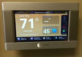 trane thermostat xl824. trane xl 824 electronic programmable thermostats with wi-fi connectivity for control from your smart thermostat xl824