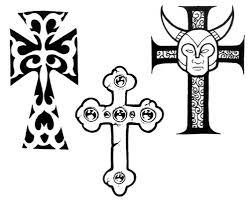женские эскизы кресты студия художественной татуировки Pro Tattoo