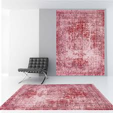asiatic verve ve11 vintage pink rug