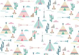 Teepee Pattern Extraordinary Teepee Pattern Vector Download Free Vector Art Stock Graphics