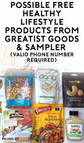 Free Mail Sample Beauteous Possible FREE Healthy Lifestyle Products From Greatist Goods