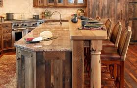 hickory cabinets with granite countertops best colors for rustic kitchen
