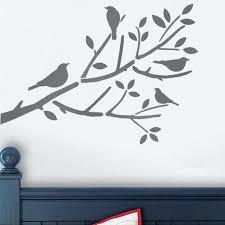 tree stencil for wall birds in tree stencil birds on branch stencil bird stencil bird branch nursery tree wall stencil uk