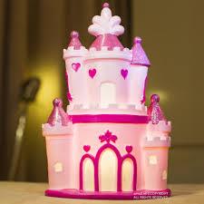 Fairy Castle Night Light Amazlab Fairy Pink Castle Shaped Led Table Night Lamp