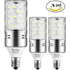 Daylight Candelabra Light Bulbs Backey E12 Led Bulbs 12w Led Candelabra Light Bulbs 100 Watt