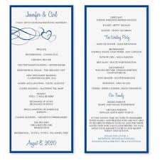 Free Microsoft Word Wedding Program Template Wedding Program Template Download By Diyweddingtemplates On