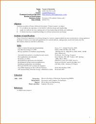 New Format Of Resume 2014 Sop Proposal