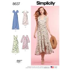 Wrap Around Dress Pattern Custom Design Ideas