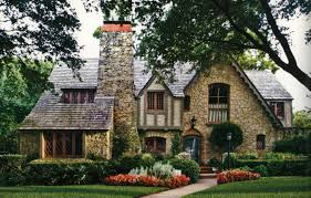 Gorgeous stone and half-timber Tudor style home in Dallas, TX | 1935 Dallas