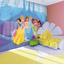 Princess Wallpaper For Bedroom Bedroom Colorful Disney Princess Wall Background With Pink