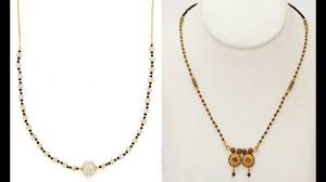 Small Mangalsutra Designs Latest Latest Trendy Short Mangalsutra Designs For Girls Best Short Mangalsutra Short Mangalsutra Gold