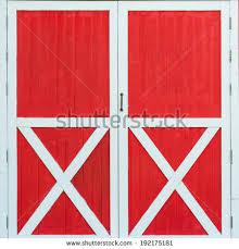 red barn door. Red Old Barn Door P