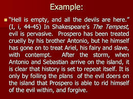 writing an introduction english the tempest essay ppt example hell is empty and all the devils are here i