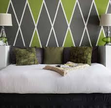 Schlafzimmer Streichen Interessant Schoumlne Dekoration Muster Schne