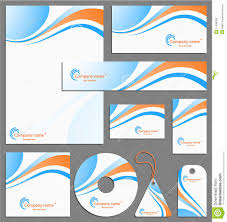 Letterhead Template Design Stock Vector Image Of Clip 11598306