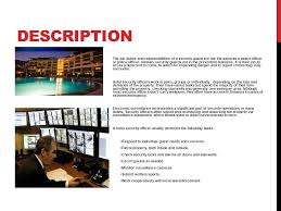 security officer duties and responsibilities ppt on security guard training